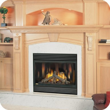 BCNV42 Natural Vent Gas Fireplace