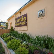 Castle Plumbing & Heating shop exterior